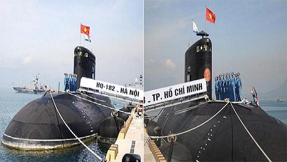 """Tổ chức Lễ thượng cờ cấp quốc gia cho 2 """"Rồng biển"""" lớp Kilo ảnh 1"""