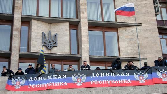 Nội các Ukraine họp khẩn cấp trước làn sóng ly khai ở miền Đông ảnh 1