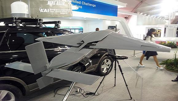 Hàn Quốc công bố UAV nội, đáp trả máy bay không người lái Triều Tiên ảnh 1