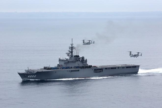 Tàu đổ bộ tấn công số 1 thế giới LHA-6 America gia nhập hải quân Mỹ ảnh 4