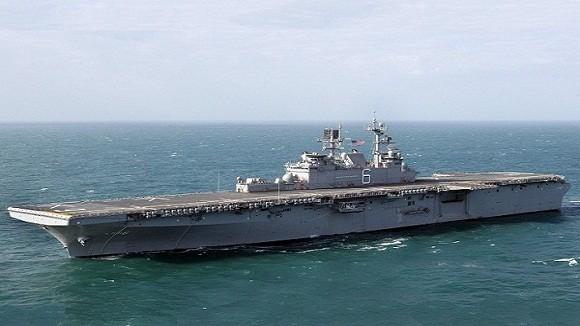Tàu đổ bộ tấn công số 1 thế giới LHA-6 America gia nhập hải quân Mỹ ảnh 3