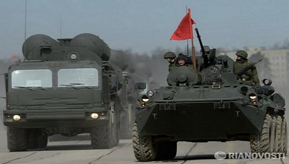 """8 tổ hợp S-400 và 8 tổ hợp """"Pantsir-S"""" tham gia duyệt binh tại Moscow ảnh 1"""