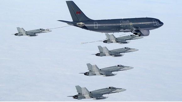Mỹ, Canada tăng cường triển khai lực lượng tới Đông Âu ảnh 1