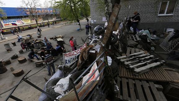 """Đông Nam Ukraine bầu """"Thống đốc nhân dân"""", chuẩn bị """"chiến tranh nhân dân"""" ảnh 1"""