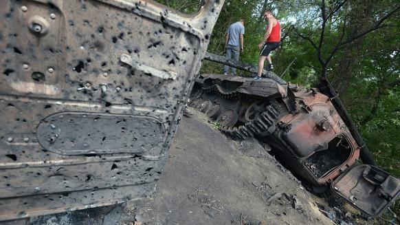 1.200 lính Ukraine bị tiêu diệt trong chiến dịch đặc biệt tại Slaviansk ảnh 1