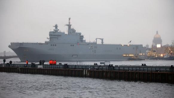 Pháp phải bán Mistral cho Nga vì trót nhận gần đủ tiền ảnh 1