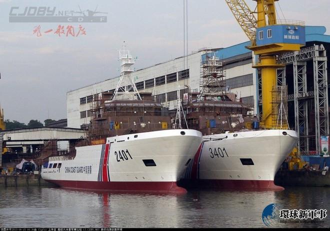 Điều thêm tàu Hải Cảnh 5.000 tấn, Trung Quốc cụ thể hoá âm mưu độc chiếm biển Đông ảnh 2