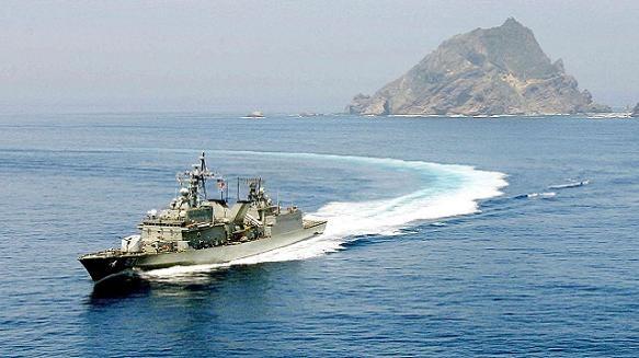 Bất chấp Nhật Bản phản đối, Hàn Quốc vẫn diễn tập tại đảo tranh chấp ảnh 1