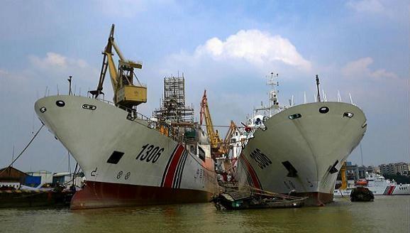 Trung Quốc liên tục tăng cường tàu hải cảnh siêu lớn xuống biển Đông ảnh 1