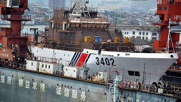 Trung Quốc liên tục tăng cường tàu hải cảnh siêu lớn xuống biển Đông ảnh 3