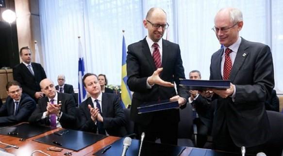 EU chính thức ký hiệp định liên kết với Ukraine, Gruzia và Moldova ảnh 1