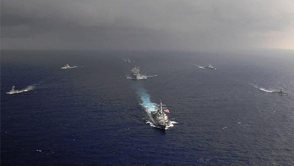 Mỹ và Singapore khai mạc diễn tập hải quân chung trên biển Đông ảnh 1