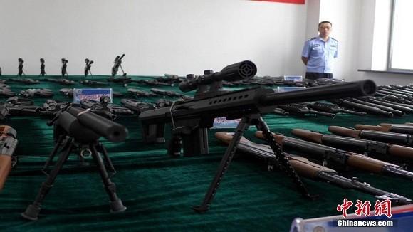 """Buôn lậu """"vũ khí nóng"""" tràn lan tại Trung Quốc ảnh 1"""