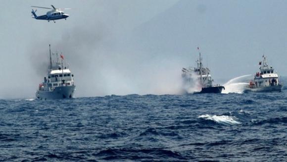 Trung Quốc lại điều 4 tàu hải cảnh xâm nhập Senkaku/Điếu Ngư ảnh 1