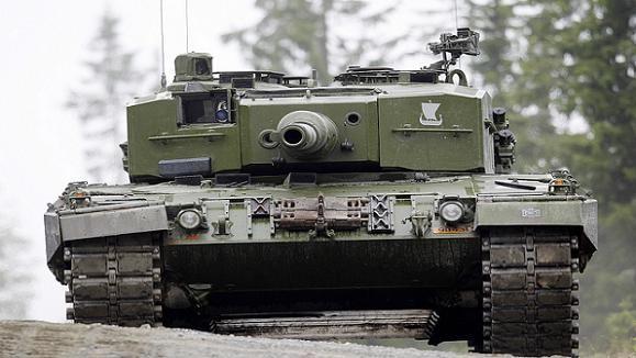 Na Uy triển khai tiểu đoàn xe tăng tới biên giới Latvia-Nga ảnh 1