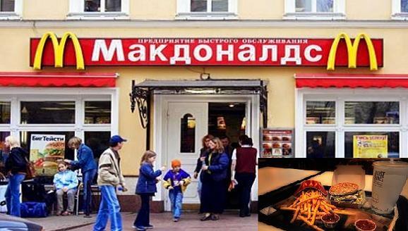 """Nga """"tổng tấn công"""" vào chuỗi nhà hàng McDonald Mỹ ảnh 1"""