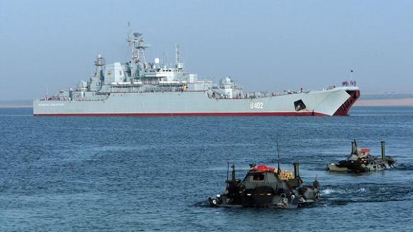 Ukraine, Mỹ và NATO diễn tập hải quân quy mô lớn tại biển Đen ảnh 1