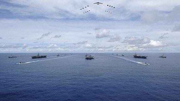 """Mỹ diễn tập quy mô lớn phá """"chiến lược chống tiếp cận"""" của Trung Quốc ảnh 1"""