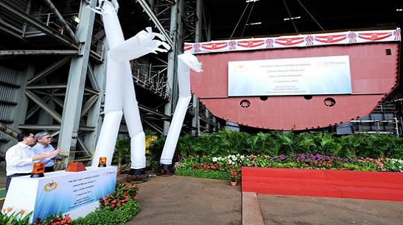 Singapore khởi đóng 8 tàu tuần duyên LMV khủng ảnh 1