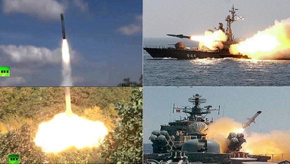 """Các hạm đội Nga tập trận lớn giả định """"diệt chiến hạm Mỹ-NATO"""" ảnh 1"""