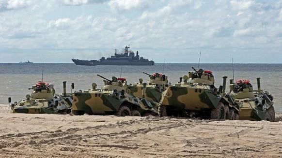 Cả nghìn xe tăng, hơn trăm máy bay của Nga diễn tập quy mô lớn ảnh 1