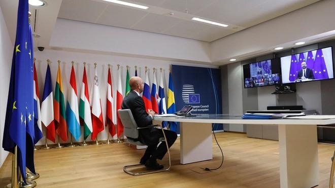 Các nhà lãnh đạo EU họp khẩn về tình hình bạo lực ở Belarus ảnh 1