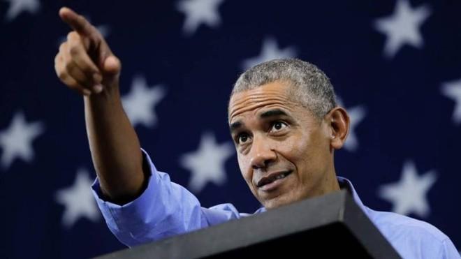 Ông Obama chỉ trích gay gắt Tổng thống Trump ảnh 1