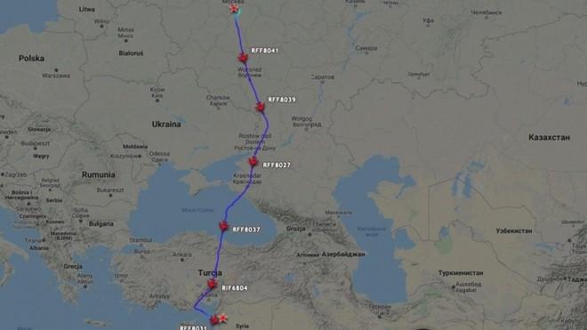 Nga bất ngờ điều 7 máy bay chở lượng vũ khí lớn chưa từng thấy tới Syria? ảnh 1