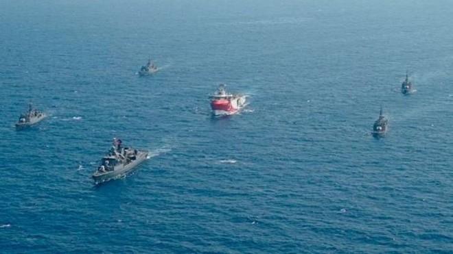 Căng thẳng ở Đông Địa Trung Hải chỉ hạ nhiệt khi tàu Thổ Nhĩ Kỳ chịu rút ảnh 1