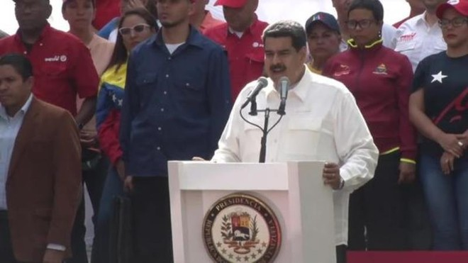 Venezuela tuyên bố bắt giữ một điệp viên Mỹ ảnh 1