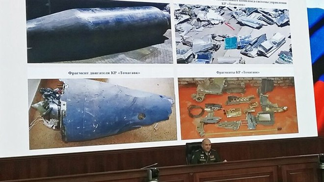 Nga sẽ làm gì với số tên lửa Tomahawk họ thu giữ được ở Syria? ảnh 1