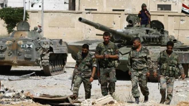 Quân đội Syria bắt đầu chiến dịch quân sự gần Cao nguyên Golan ảnh 1