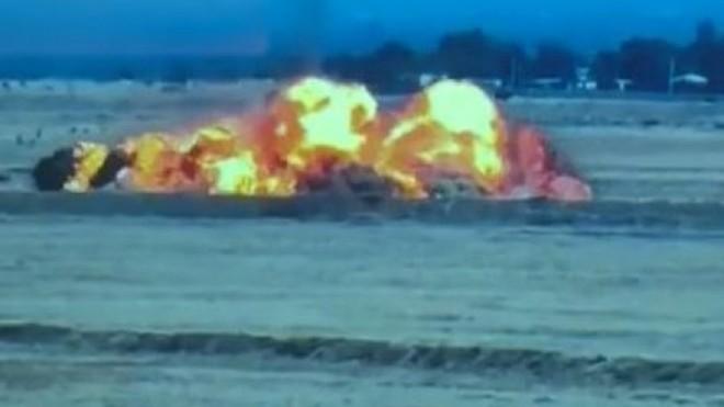 Máy bay An-16 Azerbaijan bị hệ thống phòng không Osa Armenia bắn hạ ảnh 1