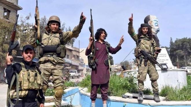 Thi thể phiến binh Syria thiệt mạng ở Karabakh được mang về nước ảnh 1