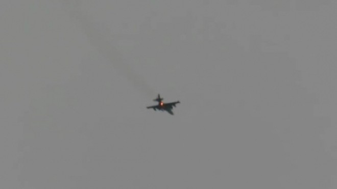 Chỉ chưa đầy 24h giờ, Azecbaijan để mất hai máy bay cường kích Su-25 ảnh 1