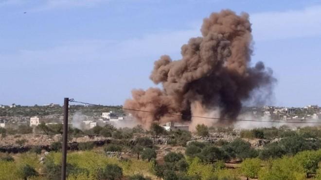Không quân Nga dội bom tiêu diệt 200 phiến binh từ Syria đến Karabakh ảnh 1