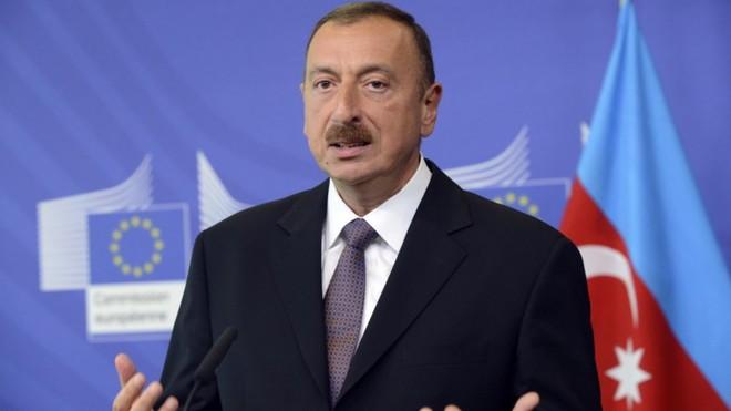 Tổng thống Azerbaijan thăm một số khu vực ở Karabakh sau tuyên bố chiến thắng ảnh 1