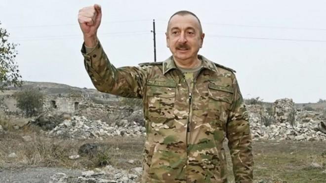 Tổng thống Azerbaijan xác nhận quân đội Thổ Nhĩ Kỳ hiện diện ở Karabakh ảnh 1