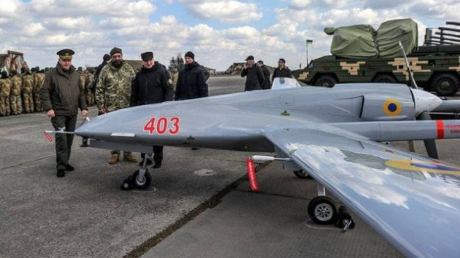 6 UAV Bayraktar TB2 Thổ Nhĩ Kỳ hiện diện ở Kramatorsk, sẵn sàng tham chiến? ảnh 1
