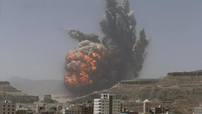 Saudi Arabia dội bom ác liệt các mục tiêu của Houthi ở Yemen ảnh 1