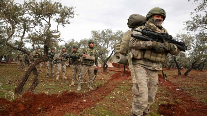 Thổ Nhĩ Kỳ phát động cuộc tấn công ác liệt ở Đông Bắc Syria ảnh 1