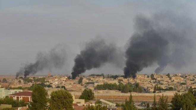Đụng độ ác liệt giữa quân Thổ Nhĩ Kỳ và SDF ở Bắc Syria ảnh 1