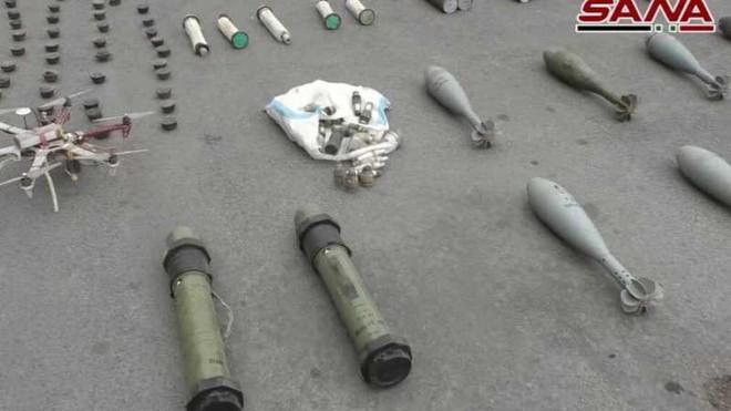 Quân đội Syria thu giữ lượng lớn vũ khí do phương Tây và Israel sản xuất ảnh 1