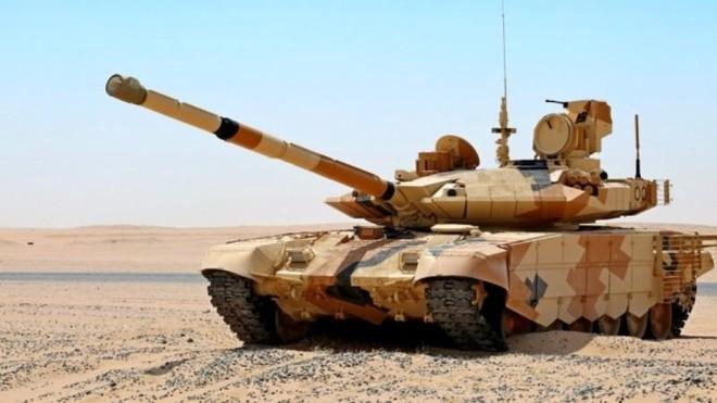 Ấn Độ thông báo mua 464 xe tăng T-90 của Nga ảnh 1