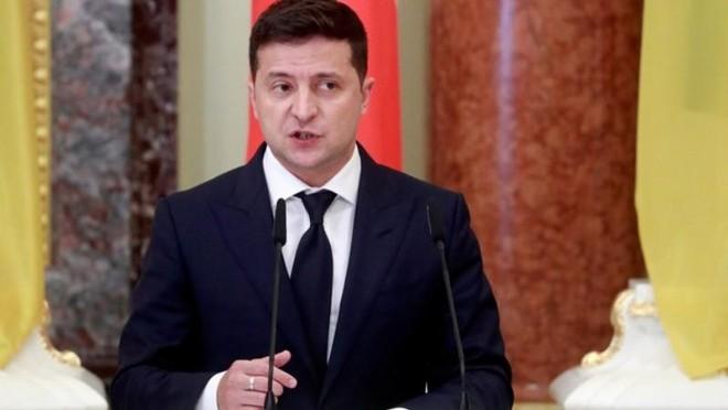 Tổng thống Ukraine kêu gọi Mỹ tham gia giải quyết vấn đề ở Donbass ảnh 1