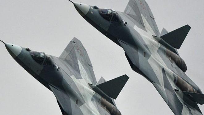 Không quân Nga nhận lô máy bay chiến đấu Su-57 đầu tiên ảnh 1