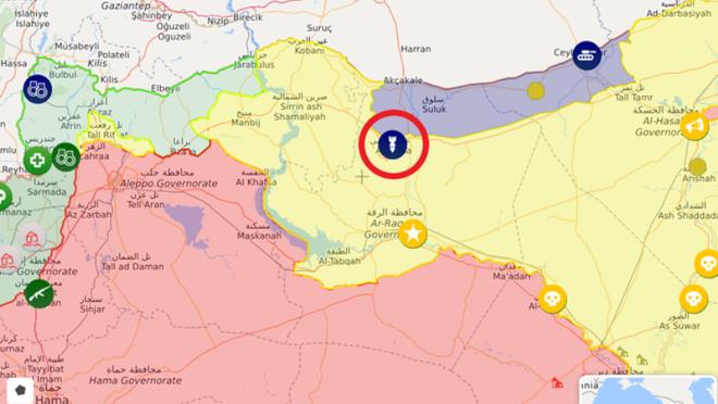 Thành phố Ain Issa sắp chứng kiến cuộc tấn công ác liệt giữa các bên đối đầu ở Syria? ảnh 1