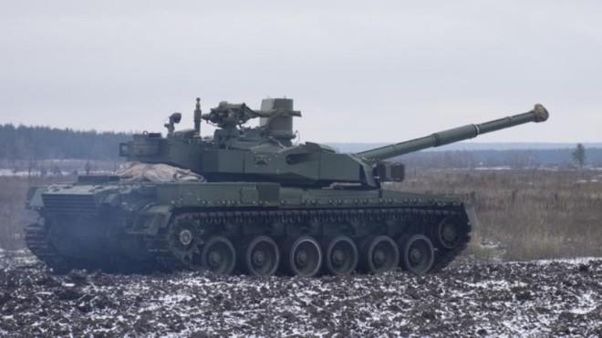 Ukraine triển khai hàng chục xe tăng đến khu vực Luhansk tập trận ảnh 1