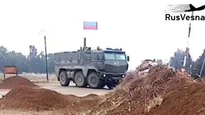 Nga triển khai lượng lớn binh sĩ tới khu vực biên giới Syria-Thổ Nhĩ Kỳ ảnh 1