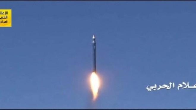 Phiến quân Houthi phóng tên lửa đạn đạo tấn công thủ đô của Saudi Arabia ảnh 1